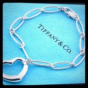 TIFFANY&Co 💯 authentic Elsa Peretti Heart ❤️ Oval